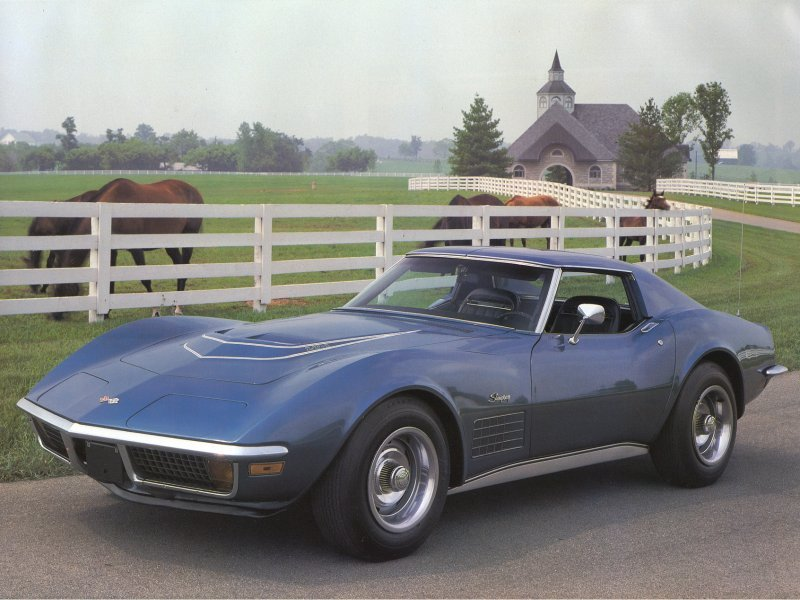 1969 Corvette Stingray Sport Coupe 1969 stingray 5. 1st gen honda fit!